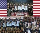 Estados Unidos Campeón del Campeonato Mundial FIBA 2010 en Turquia