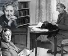 Agatha Christie (1890 - 1976) fue una escritora británica de novelas policíacas.