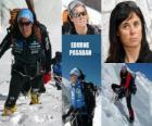 Edurne Pasaban es una alpinista española y la primera mujer en la historia en ascender a los 14 ochomiles (montañas de más de 8.000 metros) del planeta.
