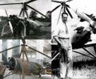 Juan de la Cierva y Codorníu (1895 - 1936) inventó el autogiro, aparato precursor del actual helicóptero.