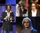 Johnny Depp es un actor estadounidense.