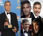 George Clooney actor de cine y televisión estadounidense, ganador de los premios Óscar y Globo de Oro.