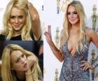 Lindsay Lohan es una actriz, modelo y cantante estadounidense.