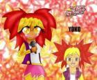 Yoko es una chica de 15 años, amante de la música pop a quien le gusta cantar con el karaoke