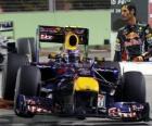 Mark Webber - Red Bull - Singapur 2010 (3er Clasificado)