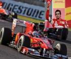 Fernando Alonso - Ferrari- Suzuka 2010 (3er Clasificado)