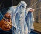 Un fantasma de Hallloween