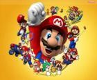 Mario el famoso fontanero del mundo de Nintendo. Mario Bros