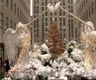 Ángeles del Rockefeller Center