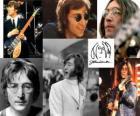 John Lennon (1940 - 1980) músico y compositor que saltó a la fama mundialmente como uno de los miembros fundadores de The Beatles.
