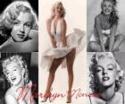 Marilyn Monroe (1926 - 1962) fue una modelo y actriz de cine estadounidense