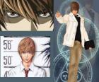 Light Yagami también conocido como Kira, el protagonista del anime Death Note
