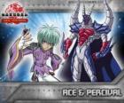 Ace Swemco y su Bakugan Percival