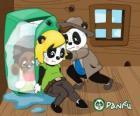 Max y Ella intentan poner en el congelador a Jay-Pea