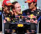 Red Bull campéon de constructores F1 2010