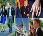 Compromiso del Príncipe Guillermo de Inglaterra con Catherine Middleton