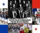 Fiestas nacionales de Panamá. 3 de noviembre, Día de la Independencia. 4 de noviembre, Día de la Bandera