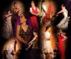 Bailaora. El flamenco tiene su origen en el folclore del pueblo gitano y la cultura popular de Andalucía, España