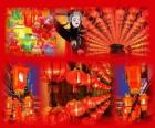 El festival de los farolillos es el fín de las celebraciones del Año Nuevo chino. Preciosos farolillos de papel