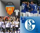 Liga de Campeones - UEFA Champions League Octavos de final 2010-11, Valencia CF - FC Schalke 04