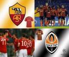 Liga de Campeones - UEFA Champions League Octavos de final 2010-11, AS Roma - Shakhtar Donetsk