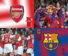 Liga de Campeones - UEFA Champions League Octavos de final 2010-11, Arsenal FC - FC Barcelona
