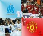 Liga de Campeones - UEFA Champions League Octavos de final 2010-11, Olympique Marsella - Manchester United