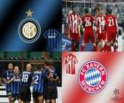 Liga de Campeones - UEFA Champions League Octavos de final 2010-11, FC Bayern Munchen - FC Internazionale Milano
