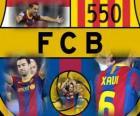 Xavi Hernández 550 partidos con el F.C Barcelona