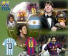 Lionel Messi Balón de Oro FIFA 2010