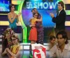 Patito y Carmen-en-la-tv2, en el plató, Patito le pide a su padre que vuelva
