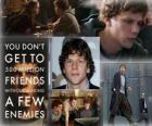 Jesse Eisenberg nominado a los Oscars 2011 como mejor actor por La red social o Red social