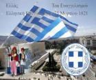 Día de la Independencia de Grecia, 25 de marzo de 1821. Guerra de la Independencia o Revolución Griega