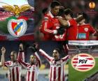 UEFA Europa League, Cuartos de final 2010-11, Benfica - PSV