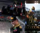 Vitaly Petrov - Renault - Melbourne, Gran Premio de Australia (2011) (3er Clasificado)