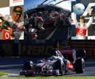Lewis Hamilton - McLaren - Melbourne, Gran Premio de Australia (2011) (2º Clasificado)
