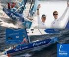 El Virbac-Paprec 3 ganador de la Barcelona World Race 2010-11