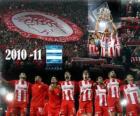 Olympiacos FC, campeón liga griega 2010-11