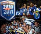 FC Oporto, campeón liga portuguesa 2010-11