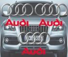 Logo de Audi, marca alemana de coches