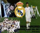 Real Madrid campeón Copa del Rey 2010-2011