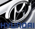 Logo de Hyundai, marca de automóviles de Corea del Sur