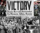 Conmemoración de la victoria de los Aliados sobre el Nazismo y el fin de la Segunda Guerra Mundial. Día de la Victoria, 8 de mayo de 1945