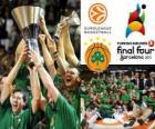 Panathinaikos, PAO, campeón de la Euroliga de Baloncesto 2011