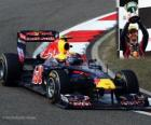 Mark Webber - Red Bull - Shanghai, Gran Premio de la China (2011) (3er Clasificado)