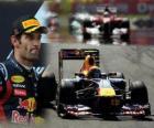 Mark Webber - Red Bull - Istanbul, Gran Premio de Turquia (2011) (2º Clasificado)