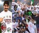 AC Milan, campeón Liga Italiana de Fútbol - Lega Calcio 2010-11