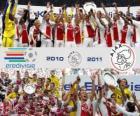 AFC Ajax de Amsterdam, Campeón liga Holandesa - Eredivisie - 2010-11