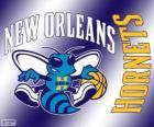 Logo de Nueva Orleans Hornets, equipo de la NBA. DivisiónSuroeste,Conferencia Oeste