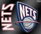 Logo de New Jersey Nets, equipo de NBA. DivisiónAtlántico,ConferenciaEste